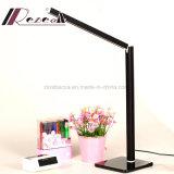 독서를 위한 작은 Foldable 휴대용 침대 곁 LED 테이블 램프
