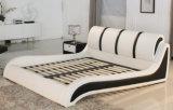 تصميم جديدة أنيق حديثة [جنوين لثر] سرير ([هك385]) لأنّ غرفة نوم