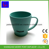 400ml 14oz biodegradierbare Weizen-Faser-Kaffeetasse mit Griff