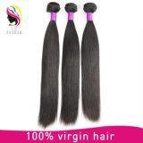 100%まっすぐで膚触りがよいブラジルのRemyの毛の織り方