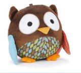 Brinquedo de pássaro de bola de pelúcia e pelúcia macia
