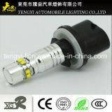 phare automatique de lampe de regain de la haute énergie DEL de lumière de véhicule de 50W DEL avec T20, faisceau léger de Xbd de CREE du plot H1/H3/H4/H7/H8/H9/H10/H11/H16 9005/9006
