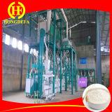 Estrutura de aço tipo 50t / 24h Fresadora de farinha de trigo