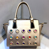 Prix usine clouté coloré de sac d'emballage des plus défuntes de créateur de mode dames de sacs à main Sy8026