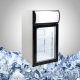 Миниый охладитель напитка с стеклянной дверью для индикации и промотирования