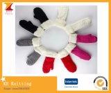 Mitaines colorées en tricot en hiver 2016