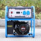 Двигателя цены по прейскуранту завода-изготовителя одиночной фазы AC зубробизона (Китая) BS2500e 2kw 2kVA генератор малого надежного приведенный в действие