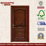 現代内部の木製の切り分けるドアデザイン(GSP2-039)