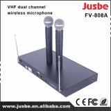 Etapa al por mayor del Karaoke del VHF KTV que canta el micrófono sin hilos vocal