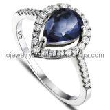 Los diseños de mayorista de anillo de diamantes de acero inoxidable