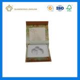 El rectángulo de empaquetado de la alta calidad del perfume de papel de lujo estupendo de la cartulina fijó (con la pieza inserta de la bandeja de EVA)