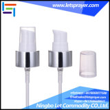 24/410 Aluminum Cream Pump with Full Overcap