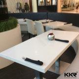 Caferteriaのための大理石のレストランのダイニングテーブルそして椅子