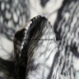 Il panno morbido polare di stampa della foresta con il lato due ha spazzolato un Antipilling laterale