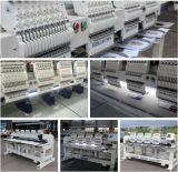 4 máquina principal multi del bordado de la función mezclada del color de la pista 15 para el bordado plano de la ropa feliz del casquillo