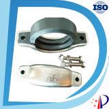Accoppiamento di gomma del connettore del tubo del PVC del rullo della catena di prezzi della scanalatura mezza dei distanziatori