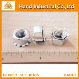 Écrou de blocage métrique d'or de la taille K du fournisseur A4 d'acier inoxydable