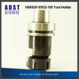 Hsk63f-Er32-100 de Houder van het Hulpmiddel van de Klem van de Ring voor CNC Machine