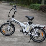 Lianmei che piega la bici elettrica della città con una rotella da 20 pollici, la batteria smontabile dello Litio-Ione (36V 250W), la sospensione e l'attrezzo pieni Premium di Shimano