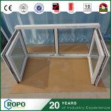 Finestra bianca della stoffa per tendine di vetratura doppia di colore UPVC/PVC di nuovo disegno