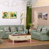 Sofà del salone con il sofà del tessuto di disegno moderno per mobilia domestica