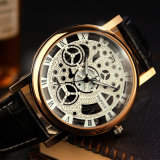 Sale를 위한 321명의 여자 Skeleton Watch Luxury Business Quartz Watch