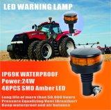10-30V faro giratorio LED IP69K impermeable ligero del piloto LED del ámbar que contellea LED
