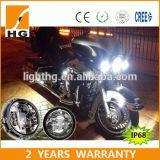 Runde Lampen-Antiaufflackern der E-MARK Scheinwerfer-7inch für Jeep Harley