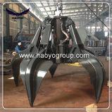 Haoyo électrique Orange Peel Grab godet hydraulique