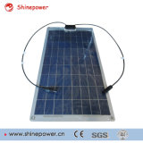 Polyhalb flexible Solarbaugruppe 10W mit Aluminium-Rückseiten-Blatt