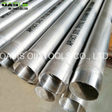 Tubi dell'intelaiatura del pozzo d'acqua dell'acciaio inossidabile 316L di ASTM A409 Inox per il sistema d'asciugamento