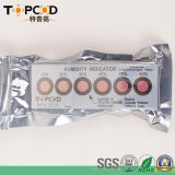 6 puntini cobalto e scheda imballata a vuoto libera dell'indicatore di umidità dell'alogeno (HIC) per CI