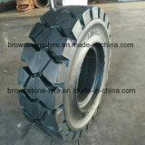 Neumático sólido de la carretilla elevadora, neumático neumático de la carretilla elevadora (2.00-8, 4.00-8, 5.00-8, 7.00-12, 7.50-15, 27*10-12)