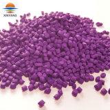 El plástico de color púrpura Masterbatch