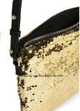 Moderne Frauen-Metallineinander greifen-Handtaschen-Aluminiumblatt-Beutel