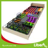 La fabrication commerciale personnalisée Grand trampoline d'intérieur