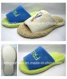 Botas de piel Hotel zapatilla Indoor caliente Zapatos Zapatos Zapatos suaves (25TA7034)