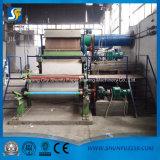 La marca vieja máquina de fabricación de papel higiénico usado/máquina de corte de rollo de papel