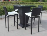 Rattan outdoor bar of High set, bar of Stool, bar of Chairs and Tables