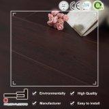 12mm V-ciré merisier sombre de style européen de la preuve de l'eau biseauté des planchers laminés