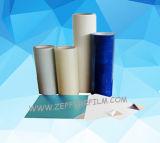 Blauer transparenter PET Film für die Metallplatten Oberflächen