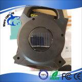 7W LEDの太陽再充電可能な作業はディスコライトカラオケライトをつける