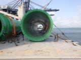 De goed Geladen Grote Pijp van het Staal van de Kleur van de Grootte Groene