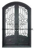 Custom роскошь Наружная металлическая передняя дверь для основного утюга домов