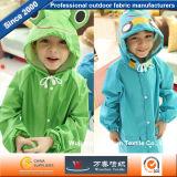 子供のレインコートのために防水タフタPVCポリエステルファブリック