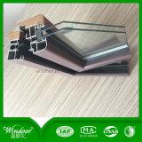 Norma europea de calidad superior de diseño de la ventana de madera aluminio