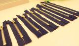 Застежка -молния металла 5# с латунным материалом для оптовой цены