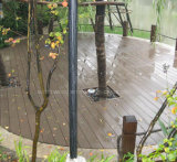 Decking de madera impermeable del compuesto del plástico WPC de la venta caliente