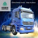 Vrachtwagen van de Stortplaats van de Weg van Shanqi de Auto Volledige 420 PK 6X4