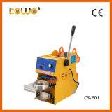CS-F02s Manual numérique tasse de lait de soja de jus de pomme d'étanchéité pour la vente de la machine
